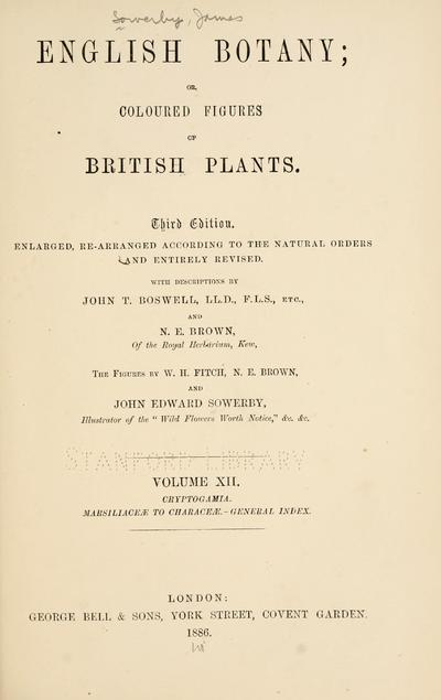 Sowerby's English botany.