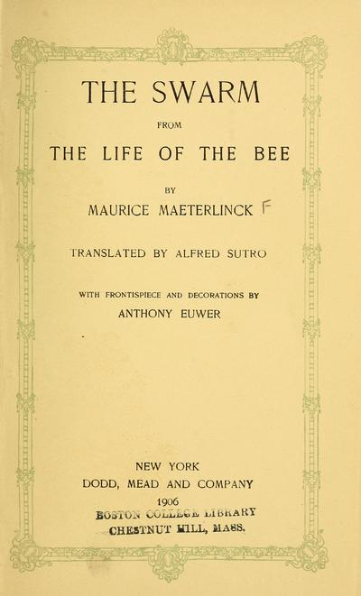 Life of the bee