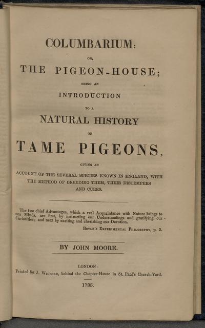A treatise on the art of breeding and managing tame, domesticated and fancy pigeons.