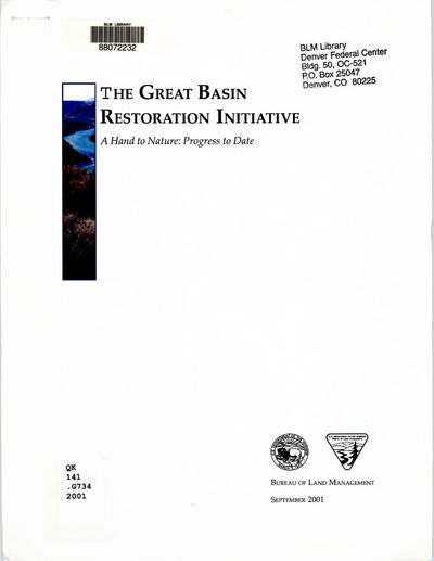 Great Basin Restoration Initiative