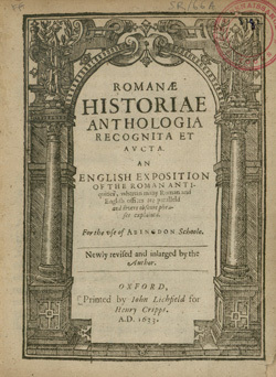 An English exposition of the Roman Antiquities