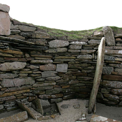 Panoramic Photography of House 2, Skara Brae