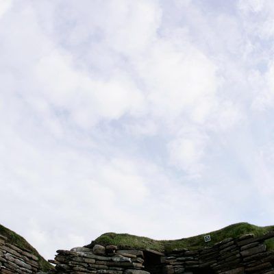 Panoramic Photography of House 5 at Skara Brae