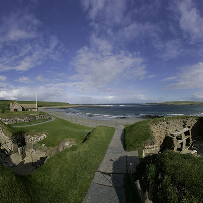Panorama Movie of link path 1-2, Skara Brae