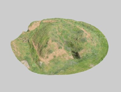 Mound 317 from Onde Marine archaeological area