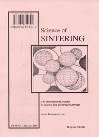 Retracted: H. Belhouchet, H. Makri, M. Hamidouche, N. Bouaouadja, V. Garnier, G. Fantozzi: Multiphase composites obtained by sintering reaction of boehmite and zircon part i: development and microstructural characterization, Science of sintering, 2014, vol. 46 br. 3 doi: 10.2298/SOS1403291B