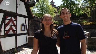 Nuremberg - Vacationing with two viewers from Argentina