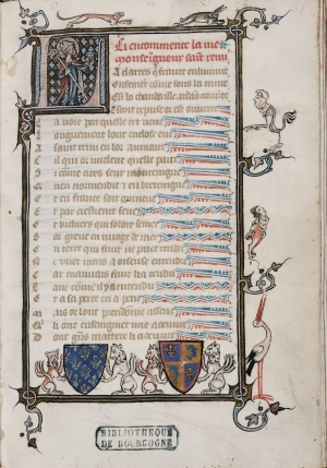 Richerus Remensis, Vie de saint Remi. [ms. 5365]