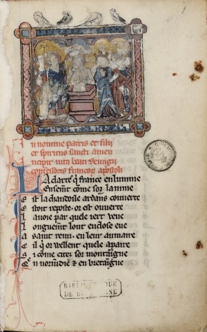 Richerus Remensis: Vie de saint Remi. [ms. 6409]