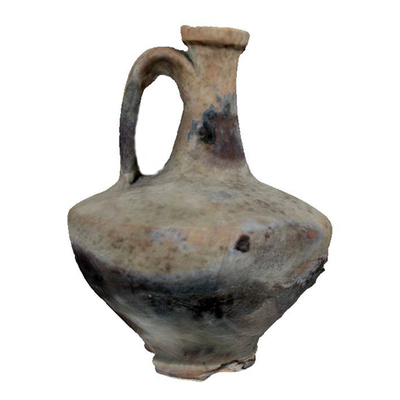 Olpe Archaeological Artifact St 6870 - 3D