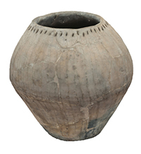 3D Model of a Prehistoric grey vessel