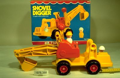 Bagger : Schaufelbagger | Fisher-Price Toys