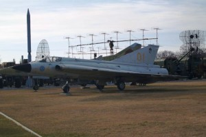 Saab J 35D Draken – start engine and taxiing