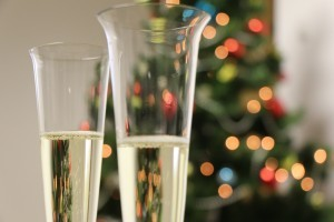 Sparkling wine –opening, pouring and making a toast