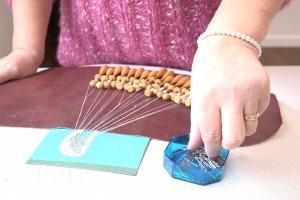 Pins used for lacemaking