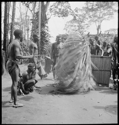 The Edzingi ceremony, Bangombé (Middle Congo)