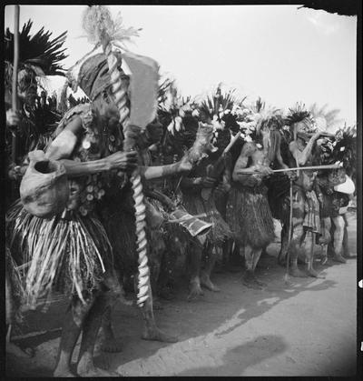 A group of dancers, Ewo (Midlle Congo)